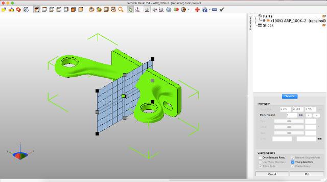 Как разрезать 3D-модель