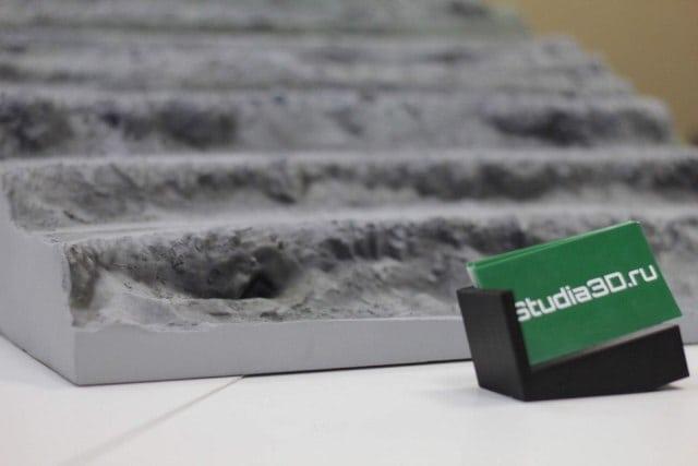 3D-печать макета горной местности из PLA