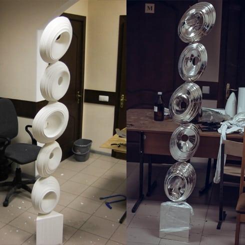 Создание скульптур и других крупногабаритных арт-объектов