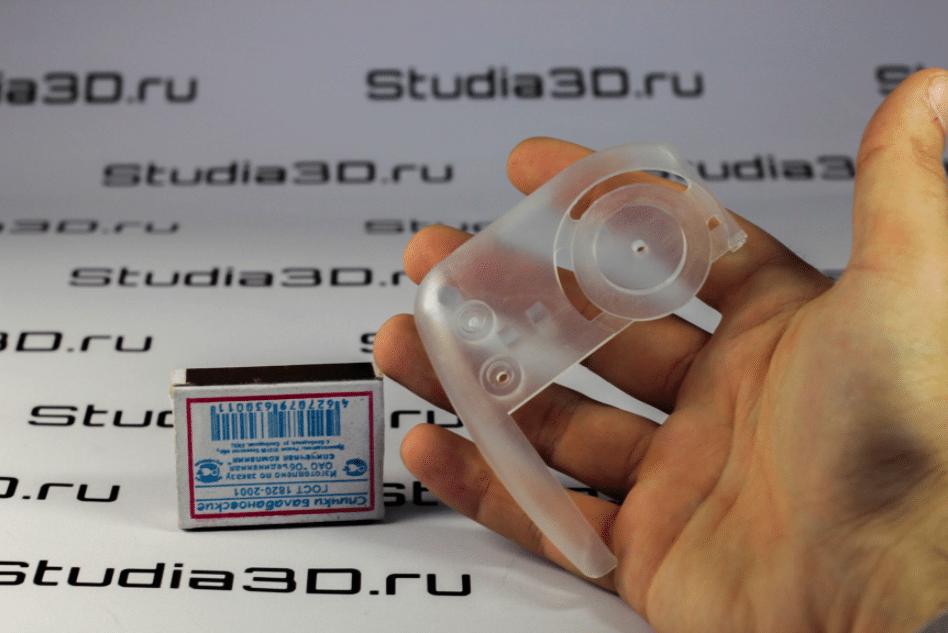 3D-печать Фотополимером Visijet Crystal