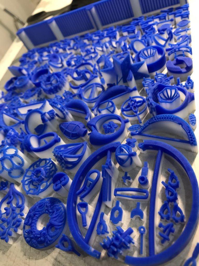 3D-печать воском